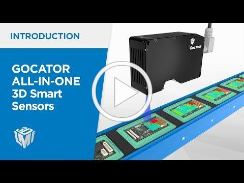 Introduction to Gocator All-in-one 3D Smart Sensors
