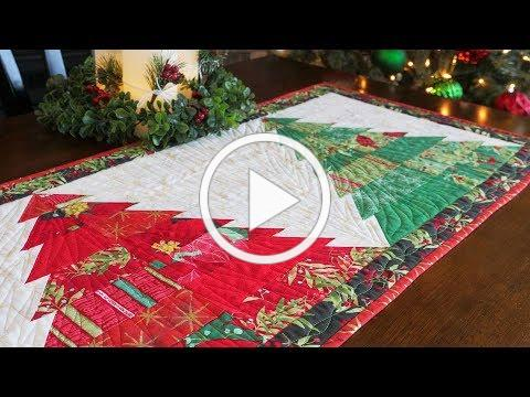 How to Make the Tree Farm Table Runner | a Shabby Fabrics Tutorial
