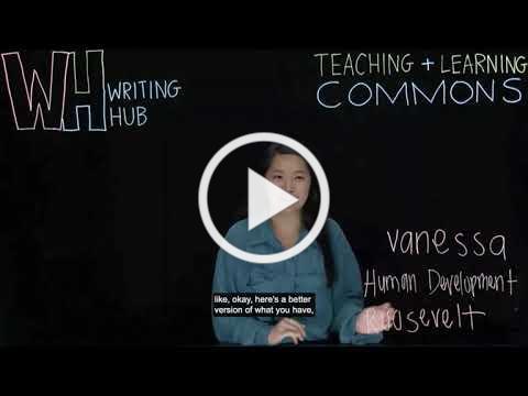 Writing Hub Workshop: What is the Writing Hub and future workshops