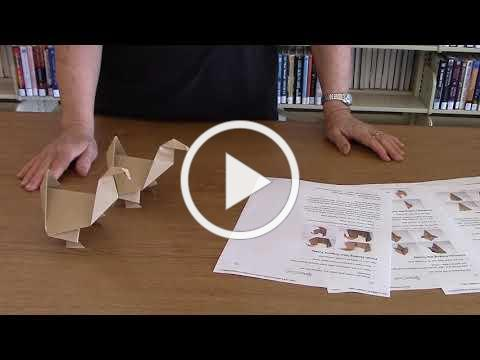 Upcycled Origami with Kat: Thanksgiving Turkey