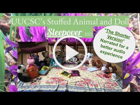 UUCSC Animal and Doll Sleepover: Short version