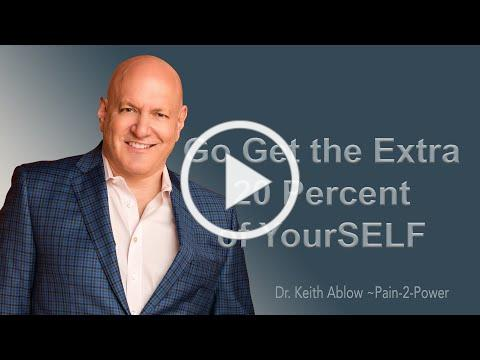 ARE YOU MISSING 20% OF YOUR POTENTIAL?