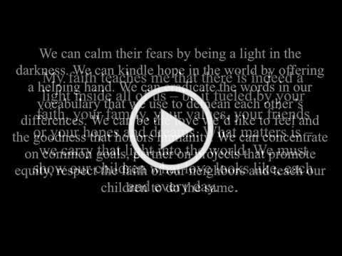 Light Your World Message - Prayers for Pittsburgh