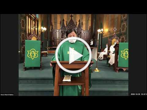 Grace Galena Sunday Eucharist 10 25 2020