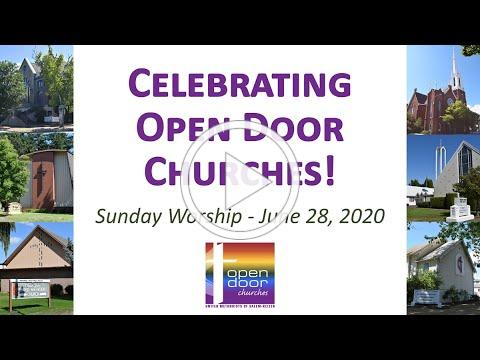 6-28-2020 Service for Open Door Churches of Salem and Keizer (UMC)
