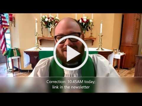 The Third Sunday after Pentecost 06.21.20