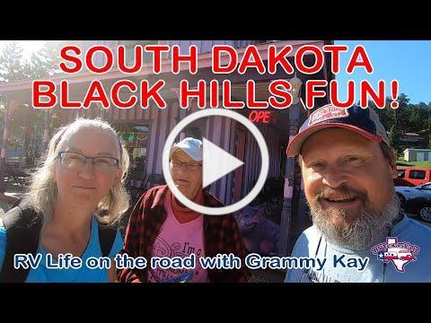 South Dakota Black Hills Fun | RVTY #BeyondTX | Full Time RV Road Trip