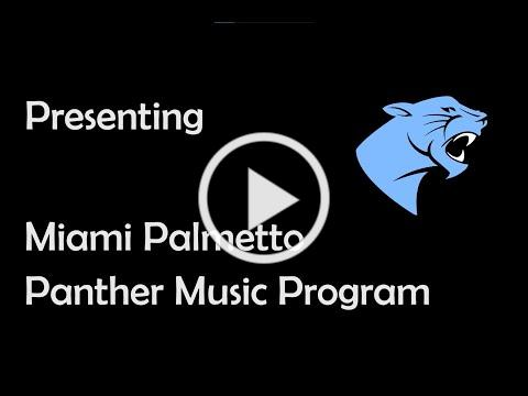 Panther Music Program - At A Glance