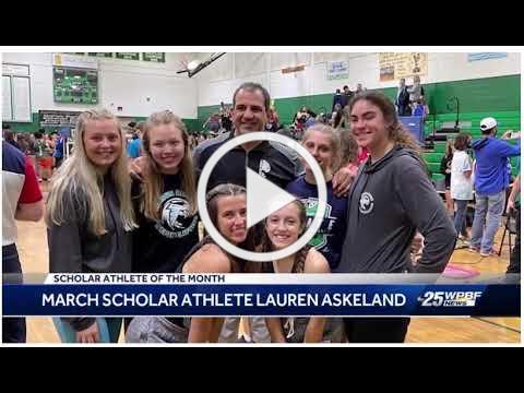 WPBF Scholar-Athlete March 2021-Lauren Askeland