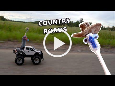 Country Roads on Electric Toothbrushes