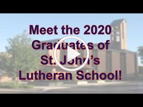 2020 Graduates of St. John's