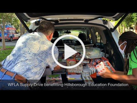 WFLA Supply Drive benefitting HEF