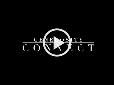 Generosity - Connect