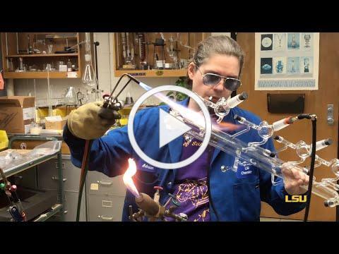 LSU Chemistry: Scientific Glassblower Adrien Connangle