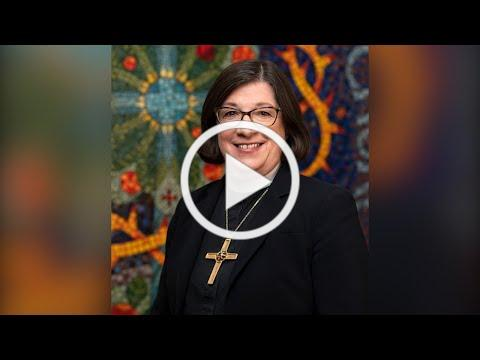 Lighting Advent Wreath - Week 4   ELCA Presiding Bishop Elizabeth Eaton   Dec. 20, 2020
