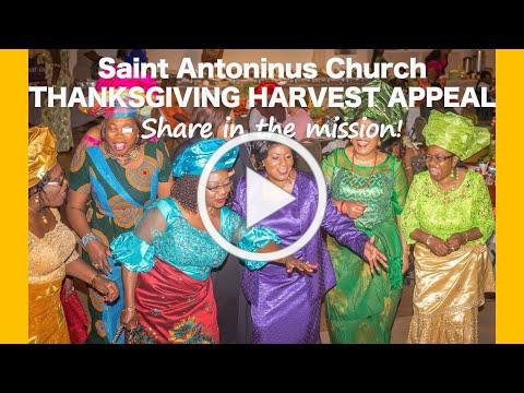 St Antoninus Church Thanksgiving Harvest Appeal. Share in the Mission!