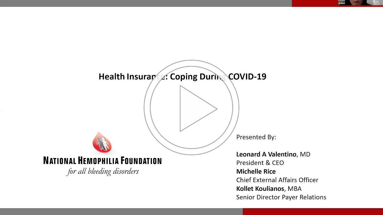 Insurance: Coping During COVID-19