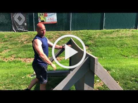 Fit Tip of the Week -- May 10, 2018 -- Obstacle Wall