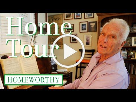 HOUSE TOUR: Man Plays Music in Same New York City Apartment for Nearly 50 Years!