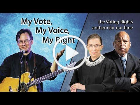 """""""My Vote, My Voice, My Right"""" - Roy Zimmerman and Laura Love"""