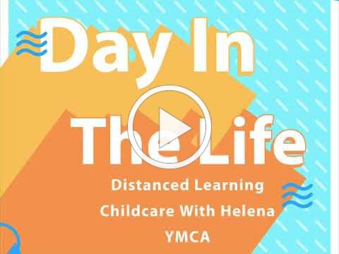 A Day in the Life of Distance Learning Childcare