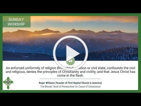 July 4, 2021 Sunday Worship Video: Hybrid Edition