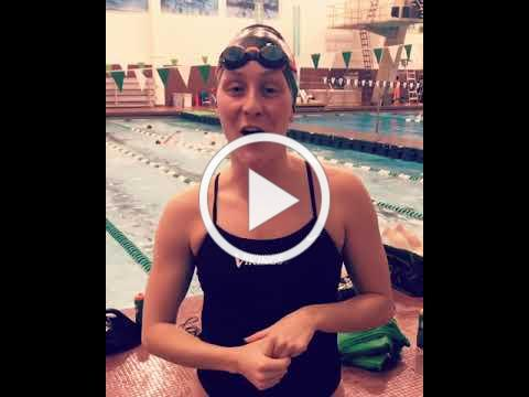 CSU Swimming, Lexi, Extra Mile Campaign