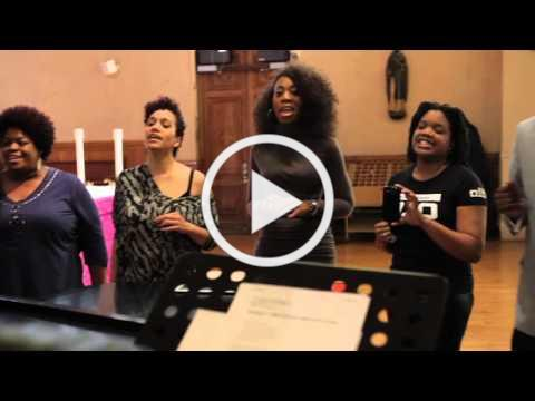 The East Coast Inspirational Singers Featuring: Brightnie Jones %22I Wanna Know What Love Is%22