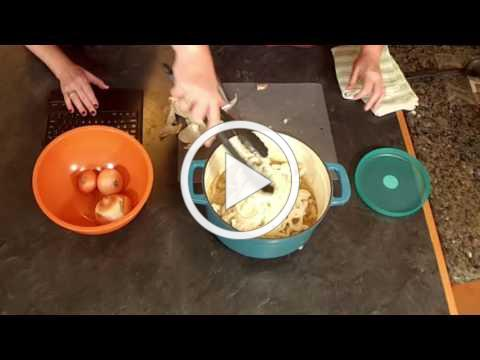 VEGISODE: Fun with Onions - from Soup to Cuts!