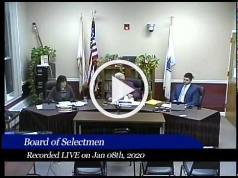 2020-01-08 WB Board of Selectmen