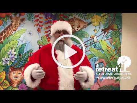 Santa at The Retreat Shelter