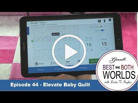 Elevate Baby Quilt - Best of Both Worlds 44