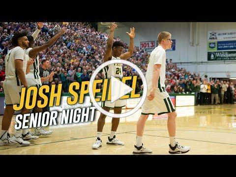 Men's Basketball: Josh Speidel Senior Night