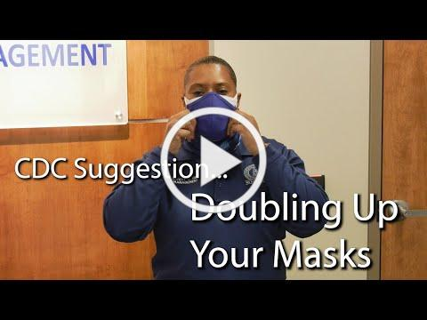 Wearing Double Masks | Safety Message