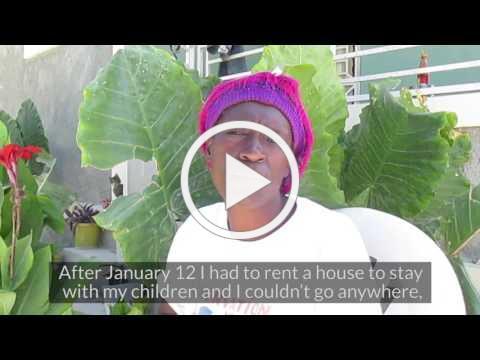 Haiti houses thank you