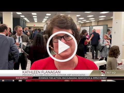 IMPAQ On Site - APPAM 2018 - Kathleen Flanagan