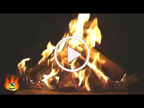 Virtual Campfire with Crackling Fire Sounds (HD)