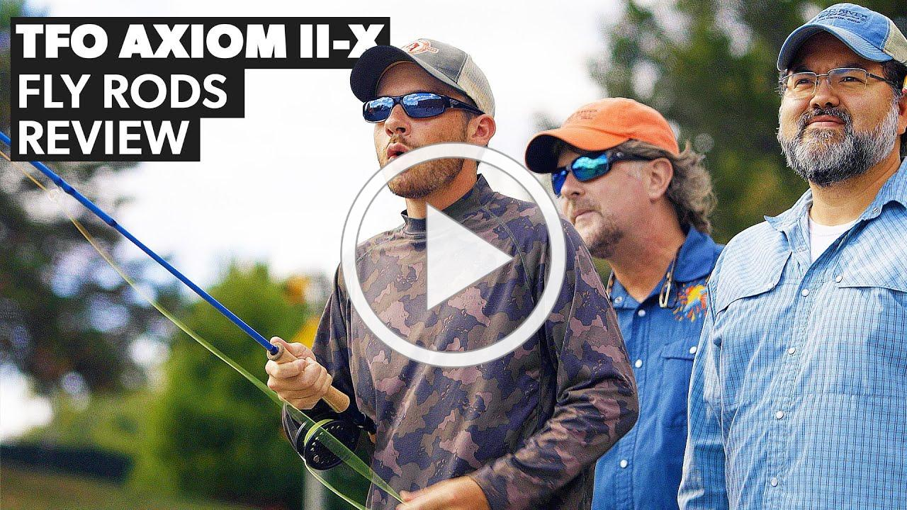 TFO Axiom II-X Fly Rod Review: The Favorite Child!
