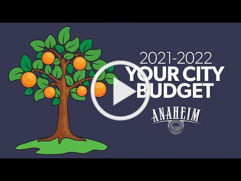 2021-2022 Your City Budget
