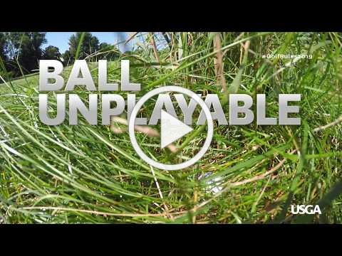 Rules of Golf Explained: Ball Unplayable (New for 2019)