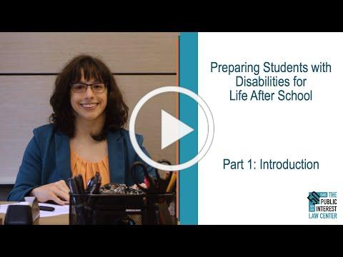 Check out our video presentation on transition services