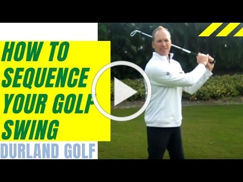 GOLF TIP | How To Sequence Your Golf Swing