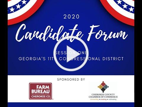 2020 Candidate Forum Session One