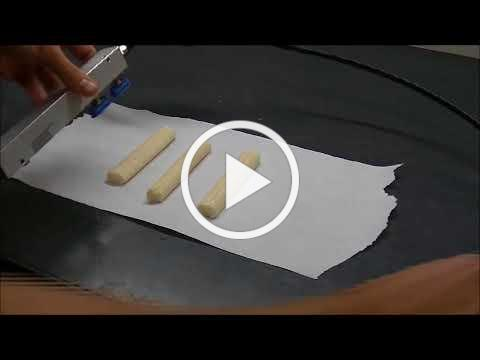 Handling string cheese with vacuum - Piab