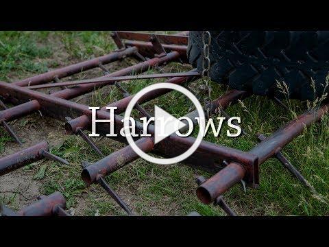 Harrows - Organic Weed Control