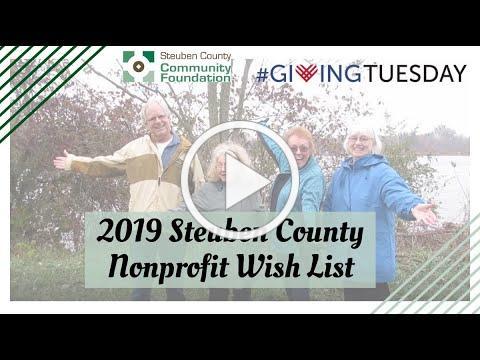 2019 Steuben County Nonprofit Video Wish List