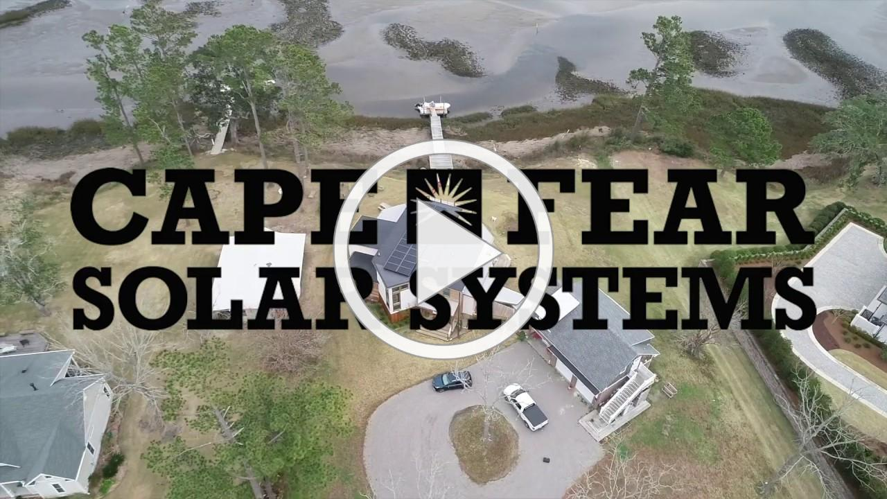New Home On The Water Designed For Energy Independence | Solar Energy Solutions By Cape Fear Solar