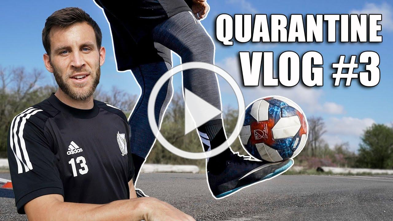 Ball Mastery in a Parking Lot.. | A Day in the Life of a Pro Footballer