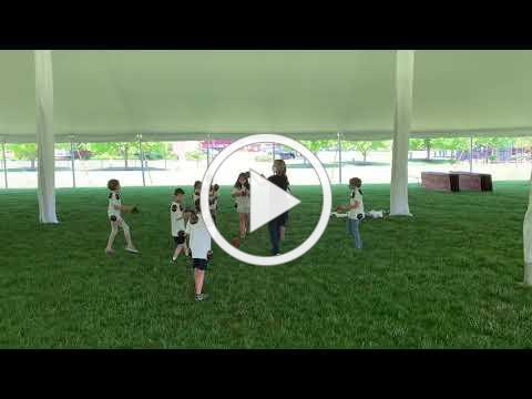 Grade 3 dancing in Preforming Arts Class 2021