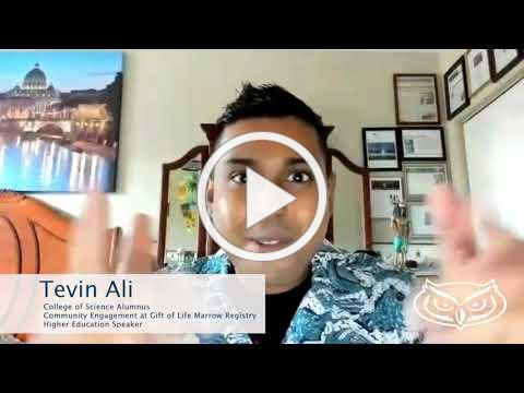Alumnus Tevin Ali Shares Tips for Current Students and Favorite Memories About FAU